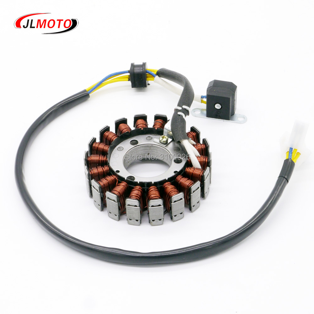 93mm 300cc Stator Coil Fit For Jinling 300cc Engine Quad ATV Parts JLA-931E JLA-925E Parts