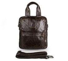 JMD Genuine Leather Men Top Handle Mens Handbag Small Messenger Bag 7266C