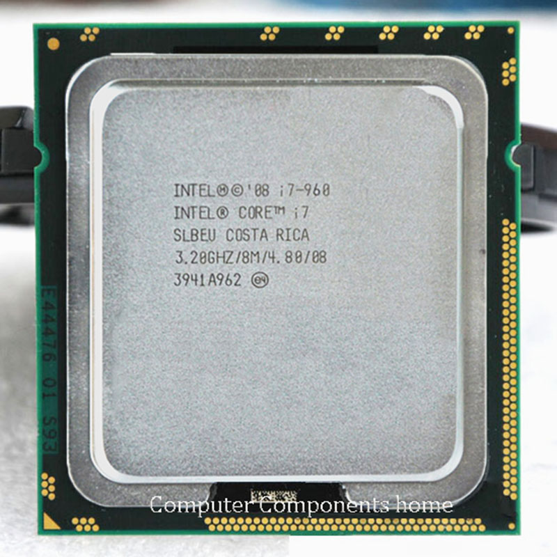 Intel core i7 960 INTEL i7-960 intel core I7 960 Processeur 3.2 ghz Quad Core LGA 1366 processeur CPU garantie 1 an