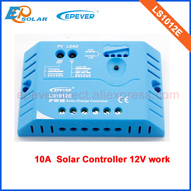 EPsolar small solar controller LS1012E PWM for home use only 12v work