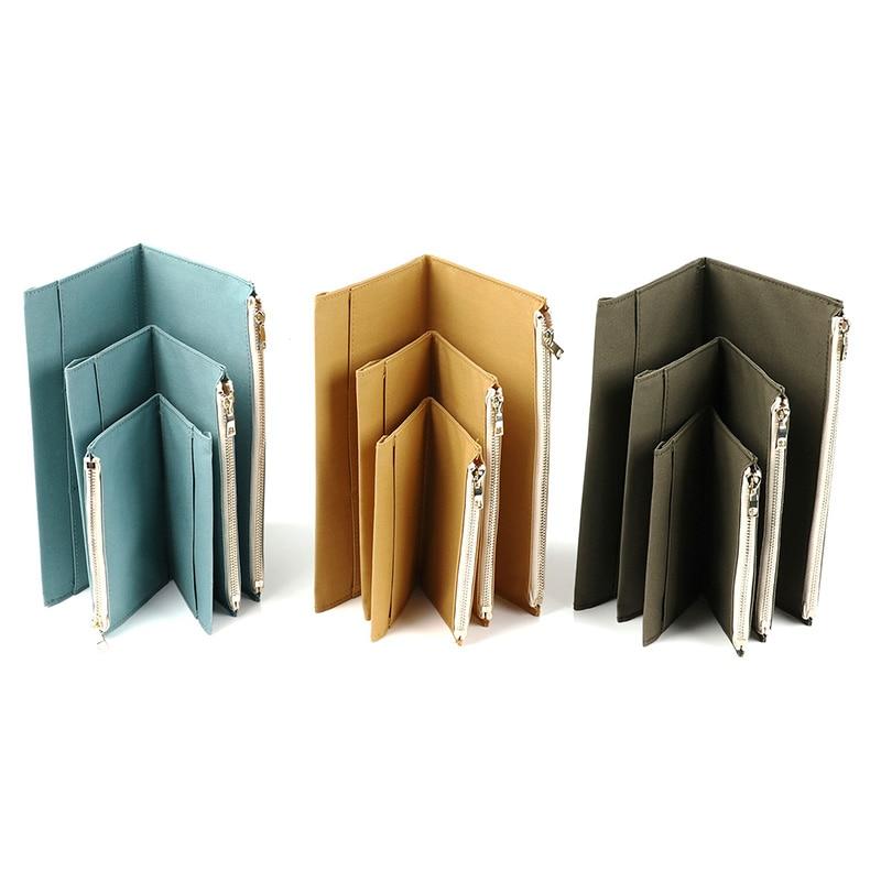 DinThenon Retro Bag de stocare pentru Midori Traveller's Notebook - Blocnotesuri și registre - Fotografie 2