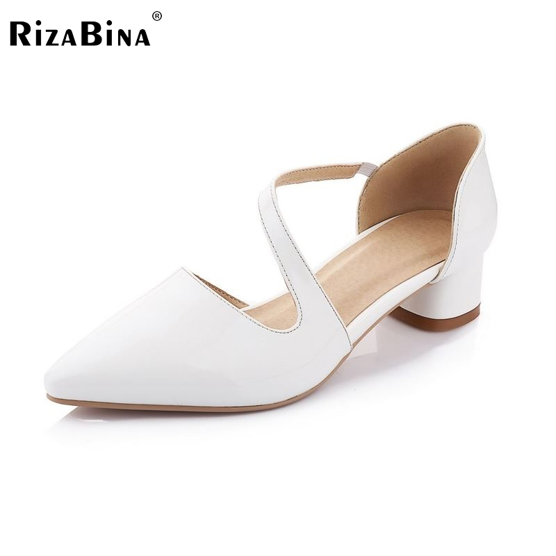 women real genuine leather stiletto wedding bridal high heel shoes sexy fashion brand pumps ladies heeled shoes size 34-39 R5580