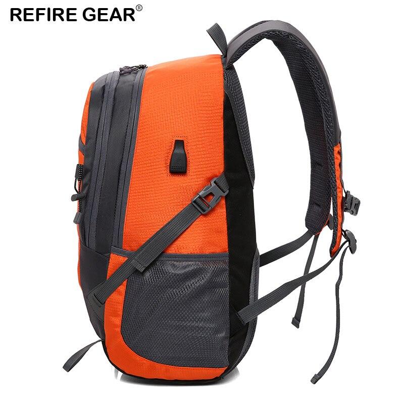 Ricarica 18 red Trekking 49 Campeggio Refire 31 Cm D'escursione Zainetto Arrampicata Zaino Black Ingranaggio Di blue Pesca Sport green Sacchetto orange Usb Estate Esterno ORnUxRp
