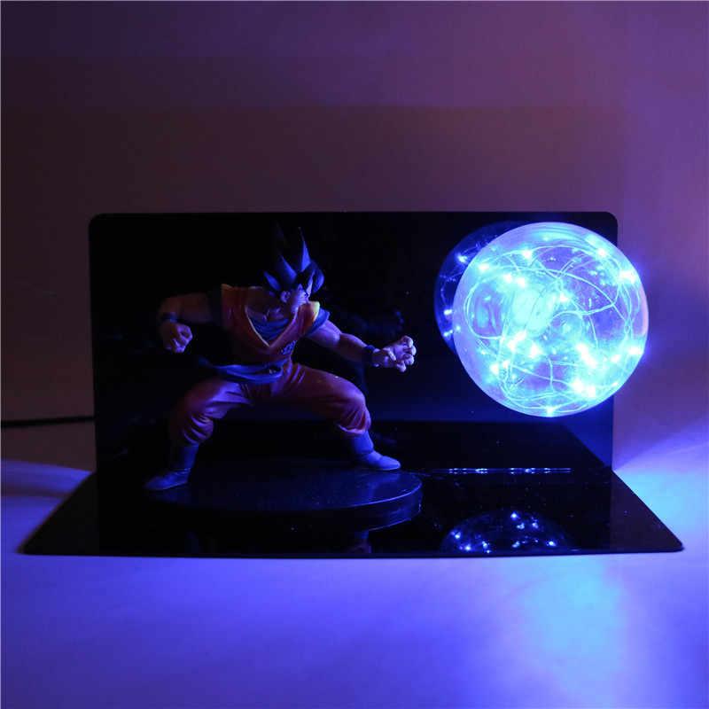 Dragon Ball Z Figuras de Ação Goku Modelo DXF Kamehameha Brinquedo DIY GT Esferas Del Dragão DBZ Dragonball Estatueta Colecionável