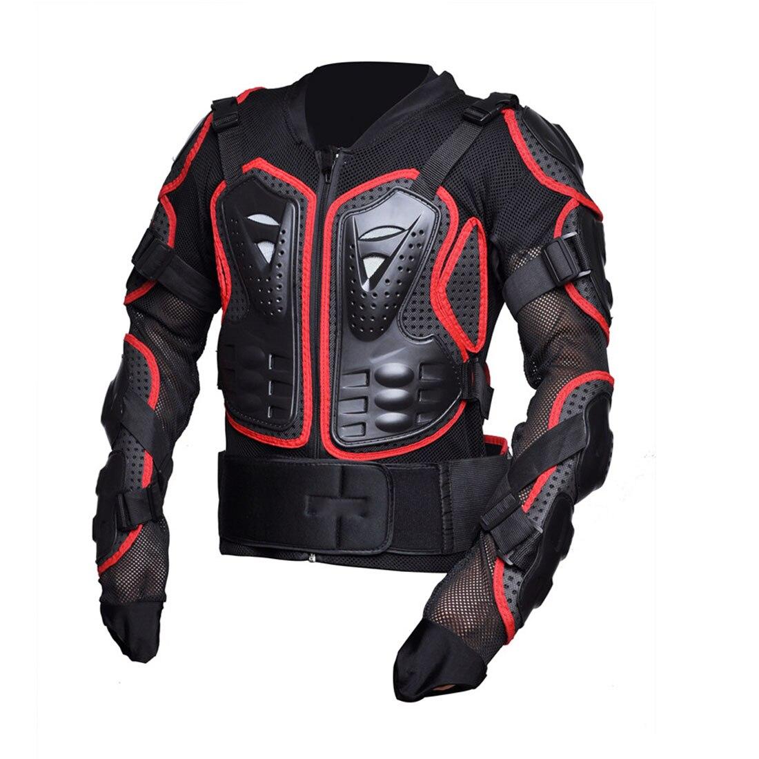 Dongzhen moto veste moto armure Protection Motocross vêtements veste croix dos/rouge armure protecteur course Automobile - 3