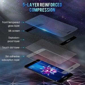 Image 2 - 3D กระจกนิรภัยบน Honor 8X สำหรับ Huawei Honor 8A 8C 8S เต็มรูปแบบป้องกันความปลอดภัยบน Honor 8X C S X8 ฟิล์ม 9H