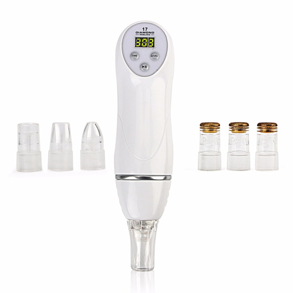 Microcrystalline Diamond Dermabrasion Microdermabrasion Vacuum Peeling Skin Care Machine Improve The Skin And Remove Wrinkle