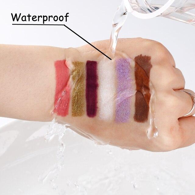 1pc Eyeliner Pen Highlighter Waterproof Eyeshadow Pencil Cosmetic Glitter EyeShadow Pen Cosmetic Glitter Eye Shadow 3