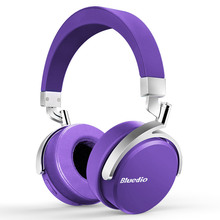 2017 Rushed Kopfhörer Ursprüngliche Bluedio Vinyl Premium Bluetooth Kopfhörer Dual 180 Grad-umdrehung Headset