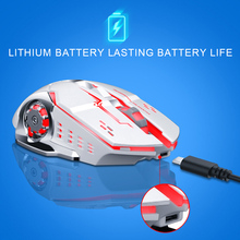 Luxury Silent Gaming Mouse For Desktop PC Gaming Computer Mouse For Laptop Wireless Gaming Mouse For Gamer Dropshipping цена