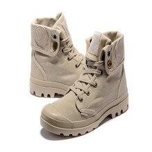 2016 CALIENTE! 11 Colores Paladio Estilo de Moda en forma de bota Asalto Táctico Militar Botas de Desierto Al Aire Libre Botas UNISEX botas amarillas