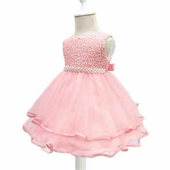 Baby Girl Dress for Girls birthday party wedding pink dress