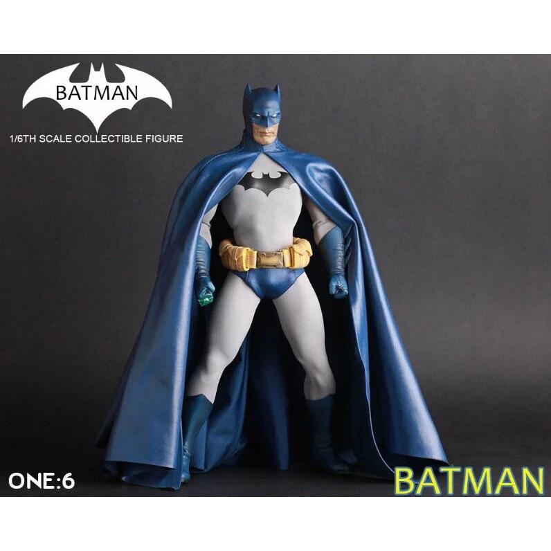XINDUPLAN <font><b>DC</b></font> <font><b>Comics</b></font> Justice League Crazy Toys <font><b>Batman</b></font> Superman <font><b>Action</b></font> <font><b>Figure</b></font> <font><b>12</b></font> inches Large PVC Collection Model 0980