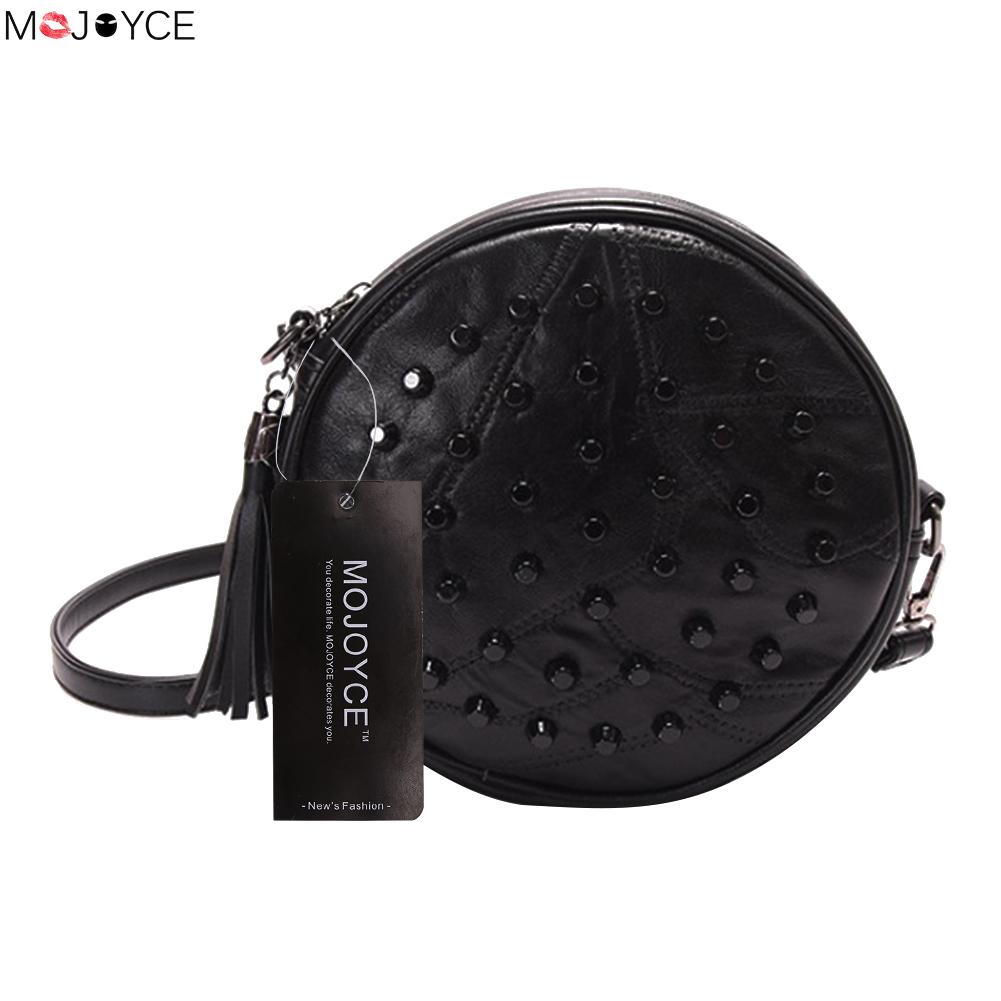 Fashion Sheepskin Sewing Rivet Handbags Female PU Leather Messenger Bag Fresh Lady Shoulder Bags Women Crossbody Bags femalee 2018 latest style women s shoulder bags 100% genuine sheepskin leather rivet crossbody bag fashion casual waist packs