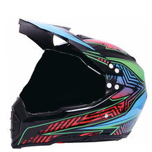 Advanced Dirt Bike Helmet  Off-Road Full Face Helmet for Motocross ATV MX Enduro Quad Sport цена