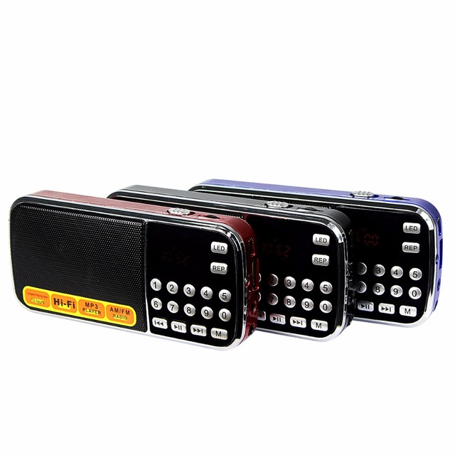 Портативный Цифровой Радио FM AM с Mp3-плеер Мультимедиа Ас с Фонарик Радио FM Y4198