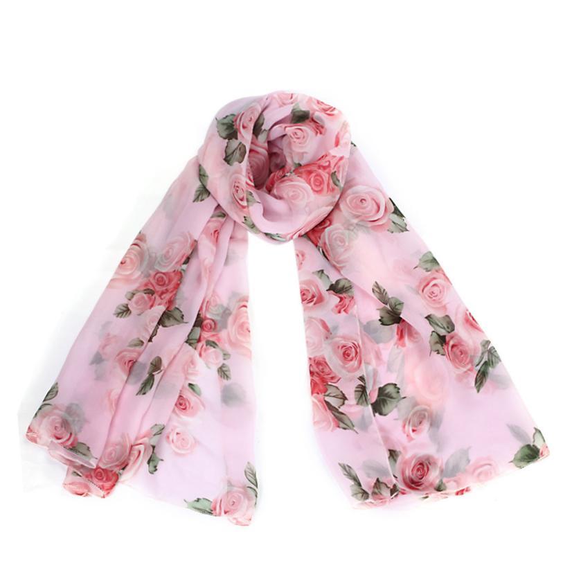 snowshine YLI Rose Womens Long Stole Scarves Shawl Scarf