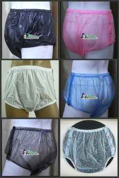 10 pieces *  ADULT BABY diaper incontinence PLASTIC PANTS P004 +Full Size - DISCOUNT ITEM  0% OFF All Category