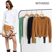 Popular Plus Size Mohair Sweater for Women-Buy Cheap Plus Size Mohair  Sweater for Women lots from China Plus Size Mohair Sweater for Women  suppliers on ... 006a11a742cd