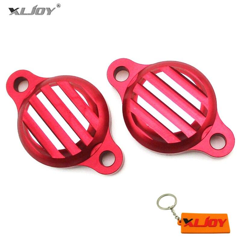 Красные алюминиевые крышки клапанов CNC для двигателя Lifan 125cc 140cc SSR YCF YX CRF50 XR50