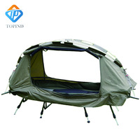 Portable 2 Person off the ground tents,Ultralight Camping Hiking Tent Cot TOPIND hammock,fishing chair bed