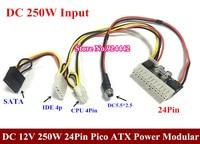High Quality 20PCS LOT DC 12V 160W 24Pin Pico ATX Switch PSU Car Auto Mini ITX