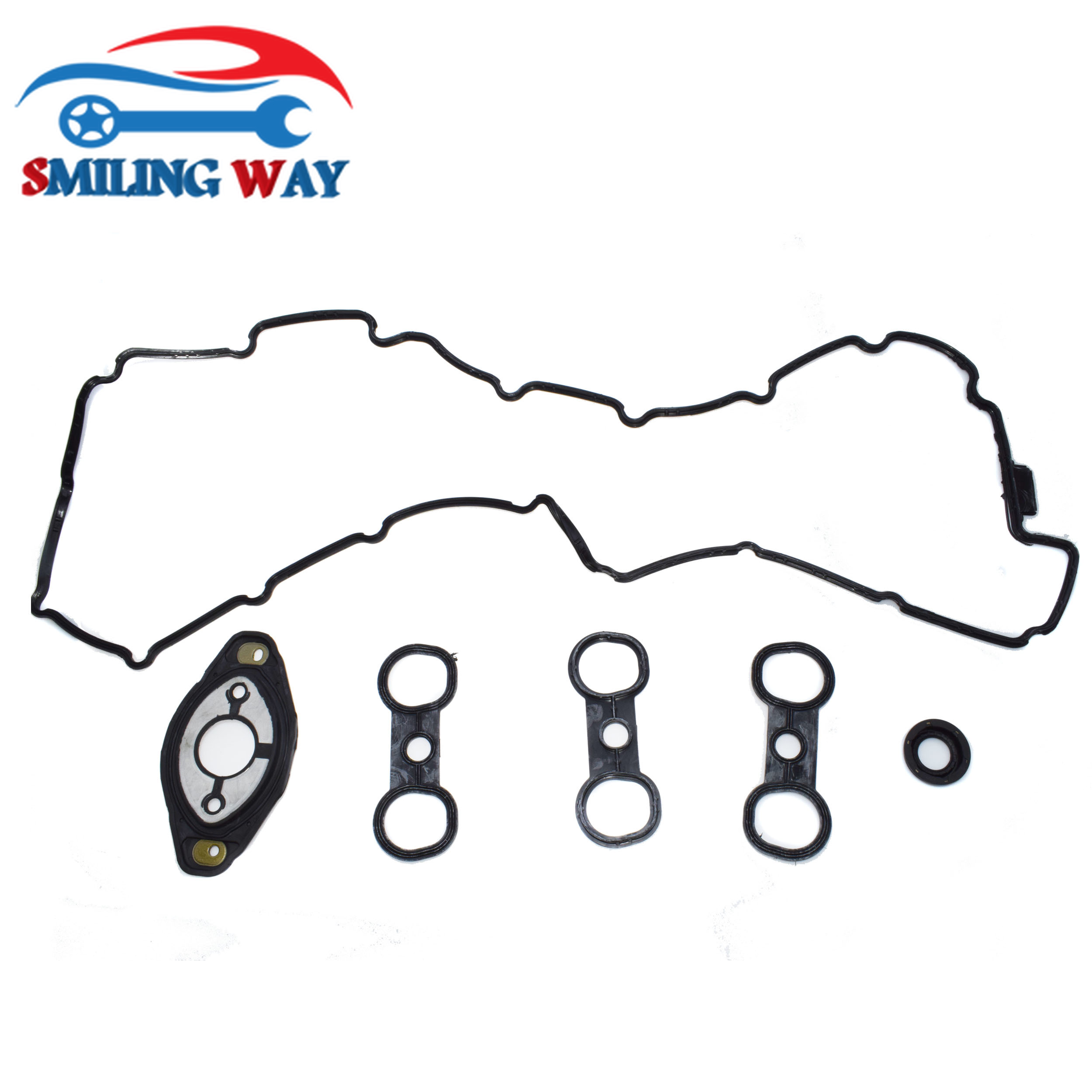 Smiling Way Valve Cover Gasket Amp Spark Plug Tube Seal For