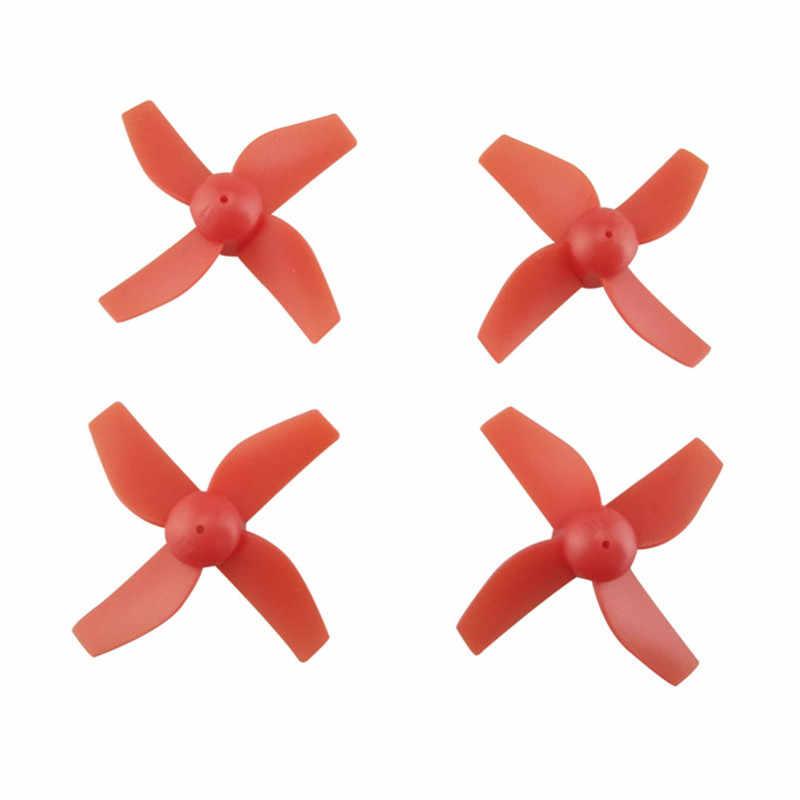 Merah Hitam Putih 65 Mm Jarak Sumbu Roda Bingkai Kit W/4 Buah Baling-Baling 4 Pcs 615 Motor Jjrc H36 Furibee f36 Eachine E010 NH-010 Suku Cadang