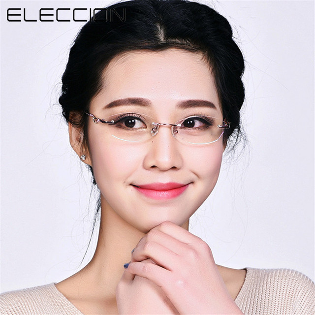 New Designer Fashion Designer Glasses Without Frame Women Glasses ...