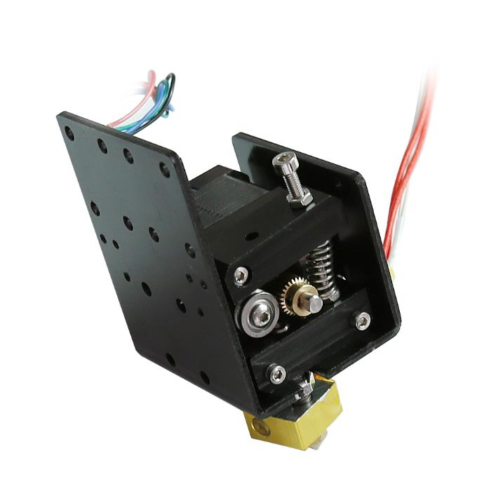 Funssor Prusa Anet 3D printer I3 extruder kit 0.4MM  nozzle head extrusion  1.75mm выключатель rexant 250v 3a 3c red 06 0310 a