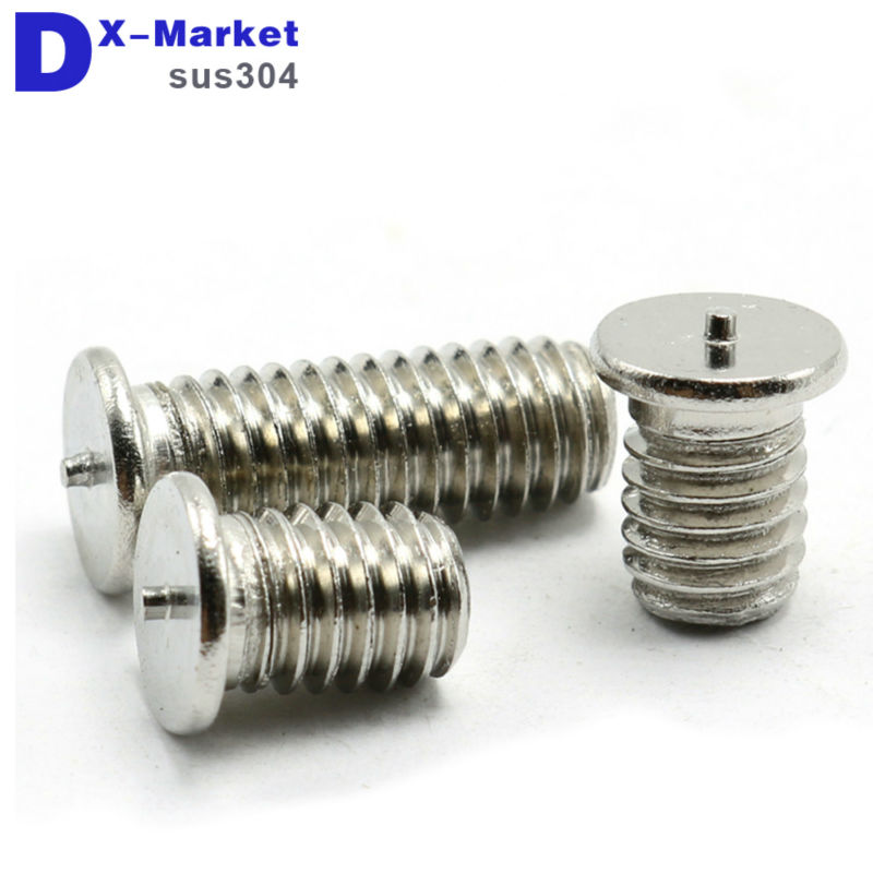 m3 welding  screw , 304 Stainless steel welding stud bolts , Spot welding screw m3 welding  screw , 304 Stainless steel welding stud bolts , Spot welding screw