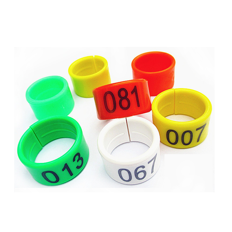 Devoted 100pcs Personal Customization Pigeon Rings Bird Ring Leg Rings Identify Dove Bands 8mm Plastic Aluminium Rings Iot Devices