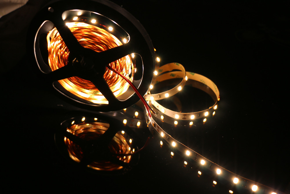 DIY LED U-HOME High CRI RA 95+ LED Strip Light SMD5630 Super Bright Warm White Nonwaterproof 2800K-3200K For DIY LED Panel Light