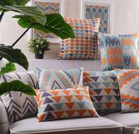 Frete Grátis!! geométrica Do Vintage decorativo jogar travesseiro/almofadas caso sofás cama carro, boho capa de almofada, decorativo descanso de lance