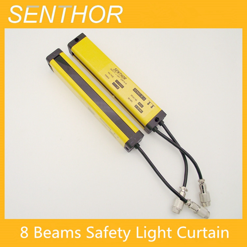 8 beams points protecting light curtain, safety grating hydraulic protection punch sensor photoelectric, reduce work injury8 beams points protecting light curtain, safety grating hydraulic protection punch sensor photoelectric, reduce work injury