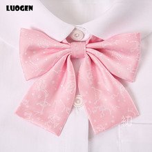 Bow-Tie School-Uniform Japanese Kawaii Cravat Girl Women Cute Bowknot Borboleta Constellation