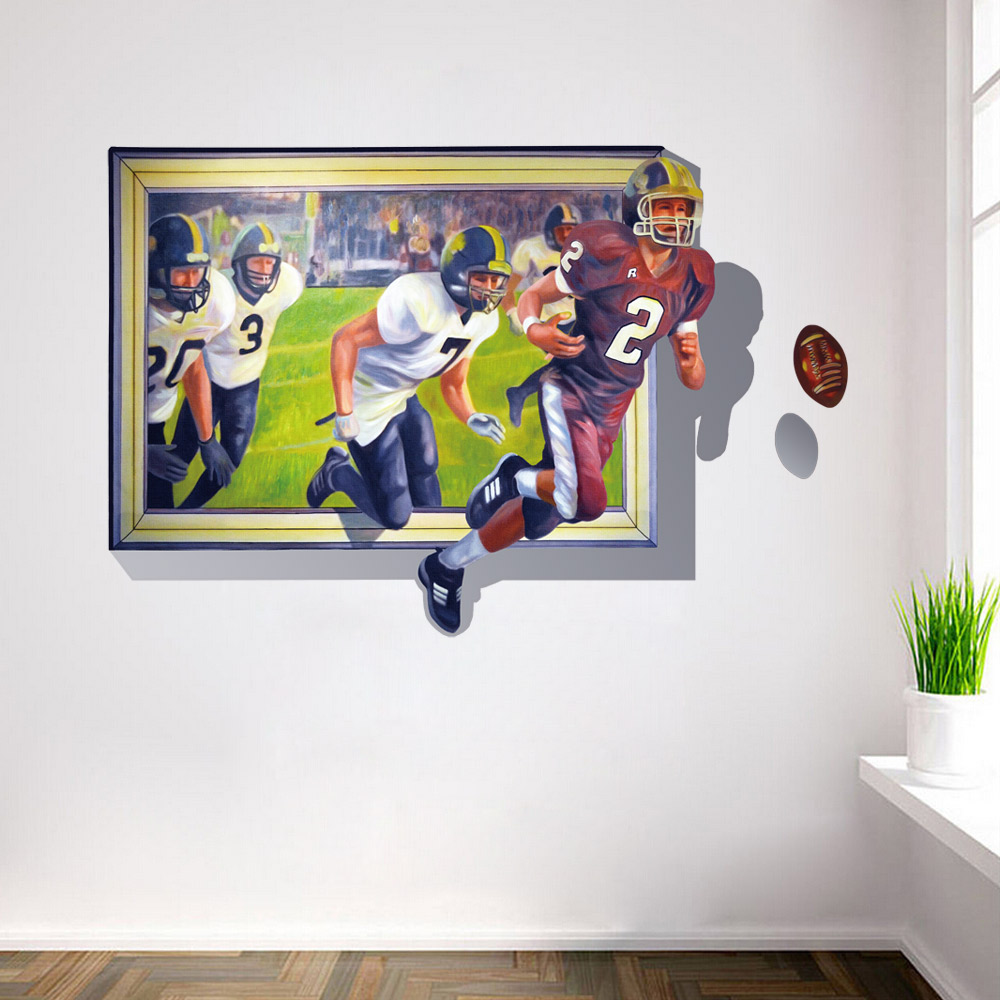 Popular football games 3d buy cheap football games 3d lots for 3d home decoration games