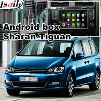 Android 6,0 gps навигации коробка для Volkswagen Tiguan Sharan Skoda Yeti Seat Alhambra MIB системы видео интерфейс с Carplay