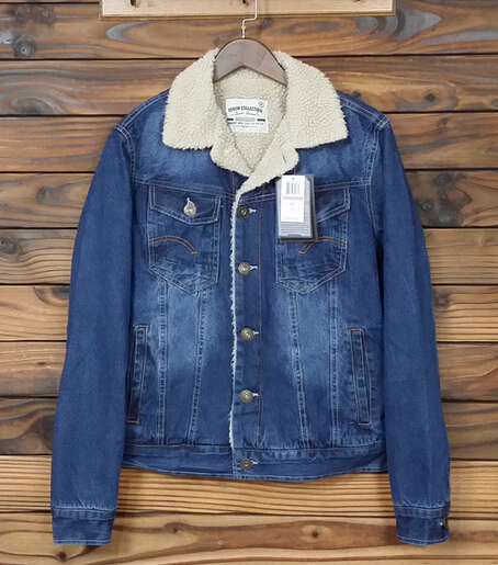 Men's Sherpa Fleece Lined Denim Jacket In Size M XXL-in Jackets ...