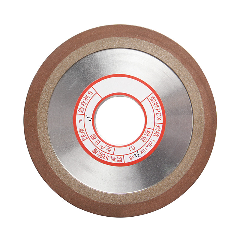 150 Degree Diamond Wheel 125*10*32*8mm Cutting Electroplated Saw Blade Grinding Disc Grain Fineness  Rotary Tool