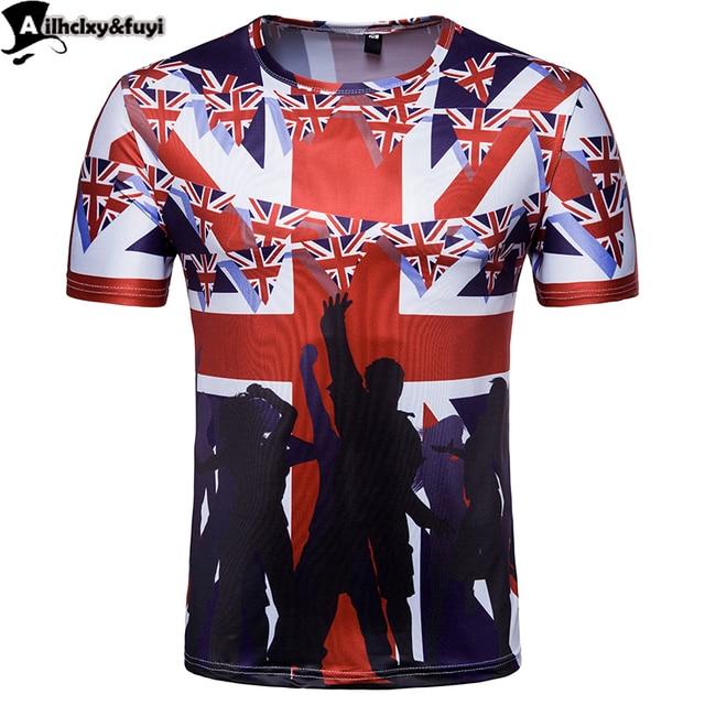 2018 World Cup men women 3d T-shirt England flag summer cool slim t shirt  tops Short sleeve summer tees big size 461ac23c69
