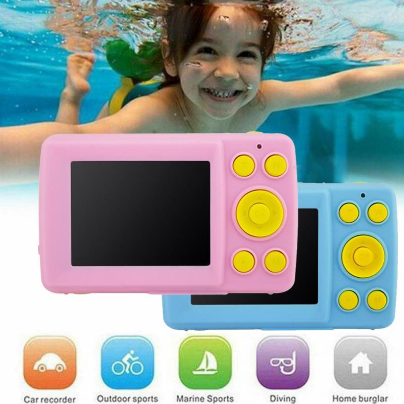 Anti-fall 2.4 Inch Screen Digital Camera Anti-shake Gifts Kids Children Mini Photo Cute HD Face Detection Durable Waterproof
