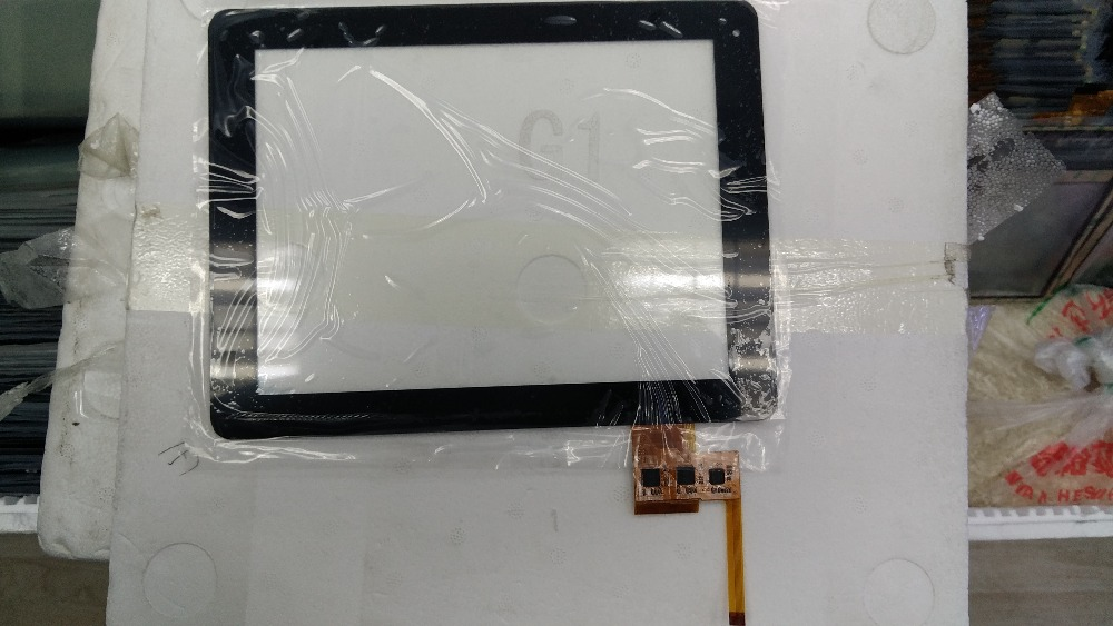 Black Original New For Tablet Capacitive Touch Screen Digitizer TOP SUN-M97A-A1 Glass Sensor Replacement Free shipping new capacitive touch screen for 10 1 inch 4good t101i tablet touch panel digitizer glass sensor replacement free shipping