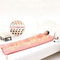 T002 Бытовая дальняя инфракрасная гипертермия массажное паровое банное одеяло для красоты Чистка кожи 220 В 510 Вт