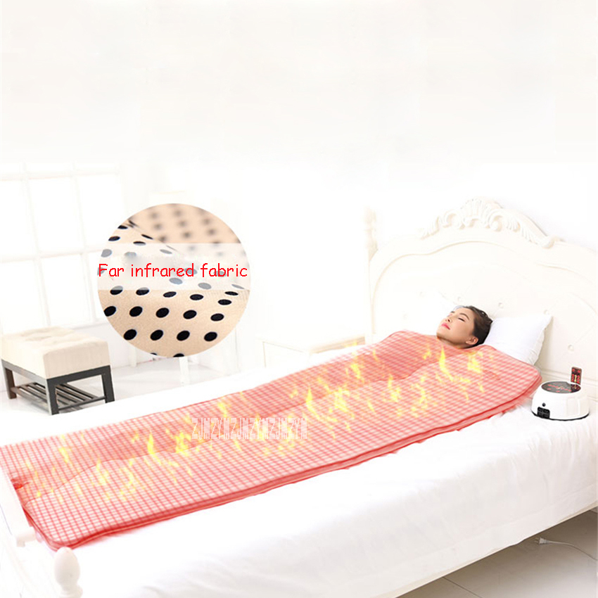 T002 Household Far Infrared Hyperthermia Massage Steaming Sauna Blanket Space Steam Blanket For Beauty Skin Cleaning 220V 510W
