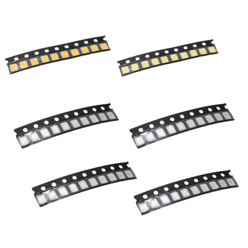 New Arrival 10 Pcs 2835 Red/Blue/Green/Yellow/Pure White/Warm White SMD SMT LED Light Lamp Beads For Strip Lights