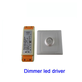 4X Hight quality 9*3W LED dimmer driver with controller input voltage AC200-265V output voltage 27-36V 900mA free shipping