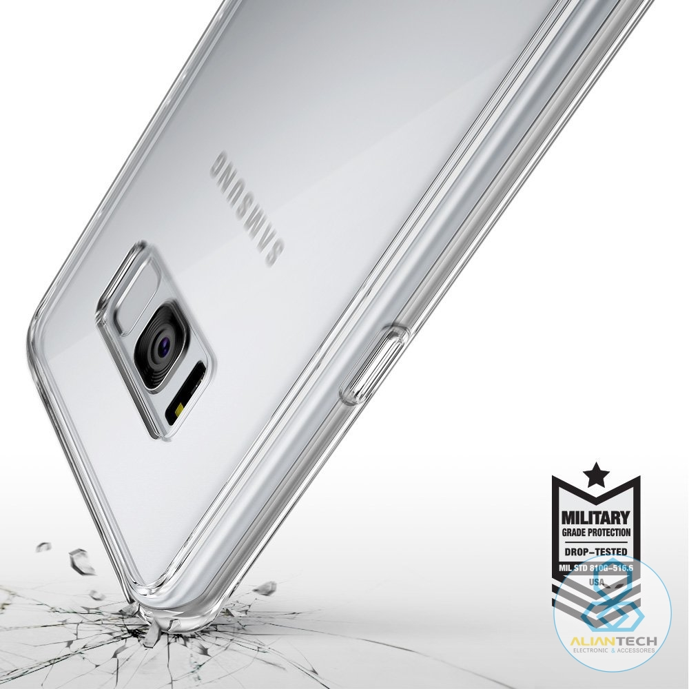 1165efeea Ringke Fusion Case for Galaxy S8   S8 Plus Clear Back Panel Mil Grade Drop  Proof Cases for Samsung Galaxy S8   Galaxy S8+-in Fitted Cases from  Cellphones ...