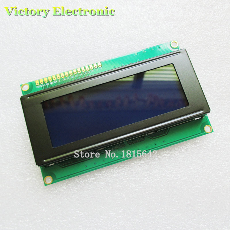 LCD Board 2004 20*4 LCD 20X4 5V Blue Screen Blacklight LCD2004 Display LCD Module LCD 2004 Wholesale Electronic
