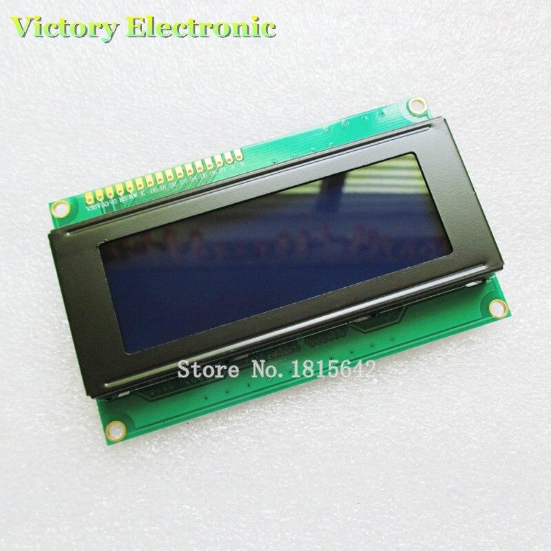 LCD Board 2004 20*4 LCD 20X4 5V Blue Screen Blacklight LCD2004 Display LCD Module LCD 2004 Wholesale Electronic